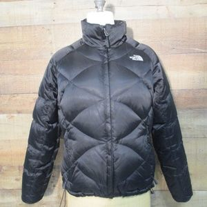The North Face Black Feather fill Puffer Jacket M